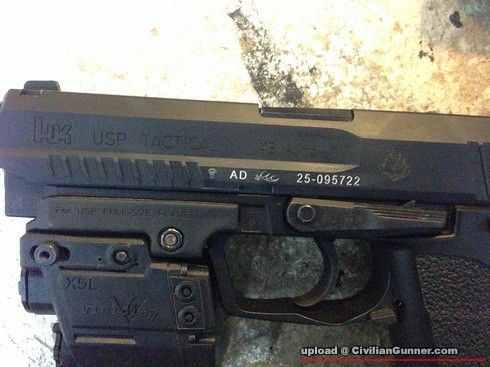 25ghk45身细部图片hk社usptactical/uspp10/hk45三