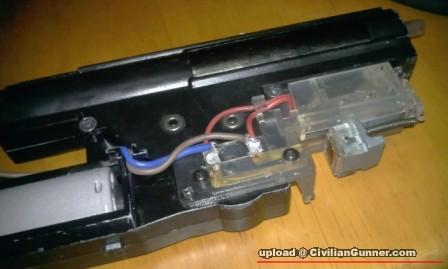 老式电闸开关接线示意图