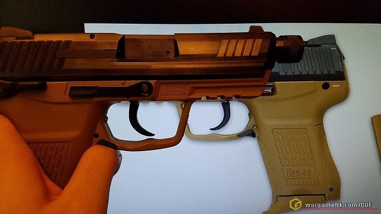 03hk45c原装trigger样式错误修正概况及d牌sidestop补品分析